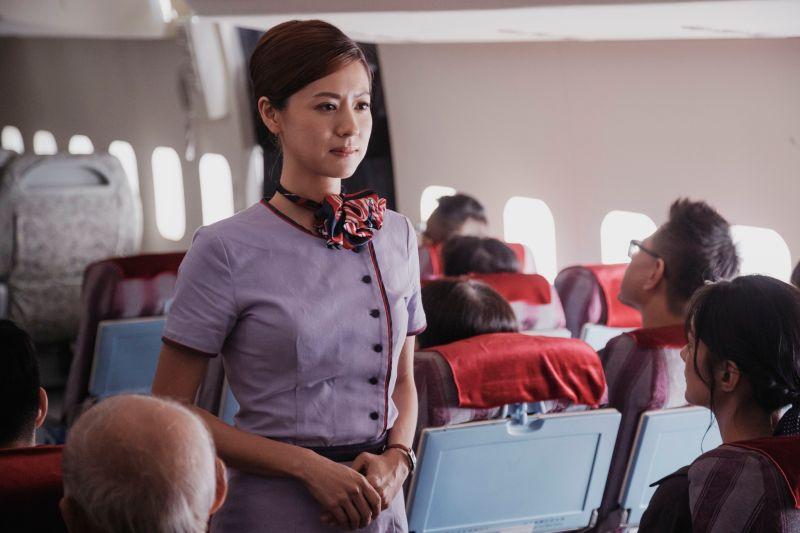 林予晞當空姐被變態襲臀 前男友出手相救超帥氣