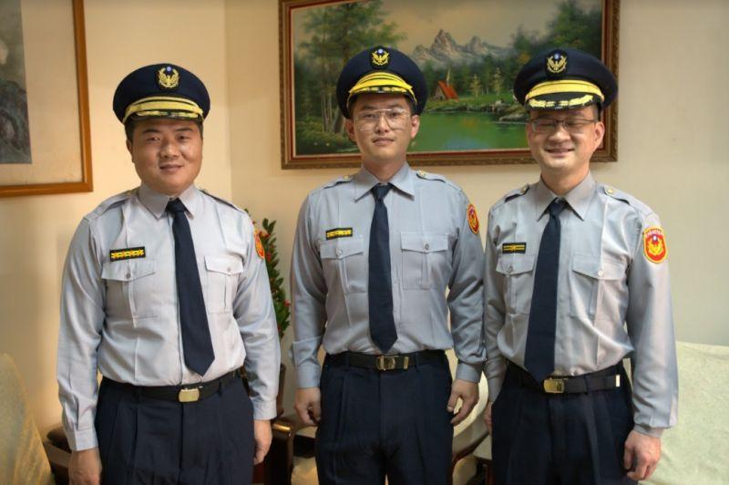 ▲顏寬恒(左起)、陳柏惟、阮昭雄客串演出《國際橋牌社2》。(圖 / 國際橋牌社劇組提供)