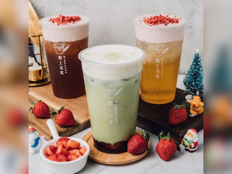 紅配綠迎聖誕 北醫最愛手搖飲推出「莓好厚抹茶」