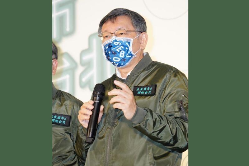 台北市長柯文哲表示,剩下7天就要進口萊豬,地方政府要做很多準備,「一直無法理解到底民進黨政府腦袋在想什麼」。(圖/台北市政府提供)