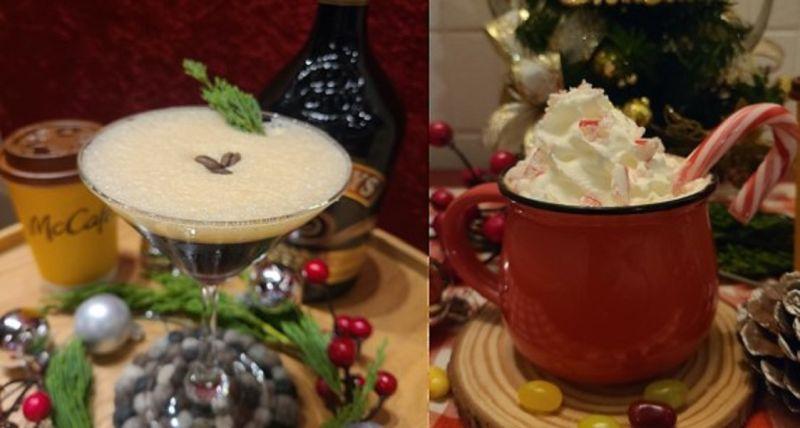 ▲神人級網友因為女友喜愛咖啡口味的點心,麥當勞咖啡搖身一變成為超暖心DIY聖誕禮物,變化出3道咖啡甜品。(圖/翻攝自Dcard)