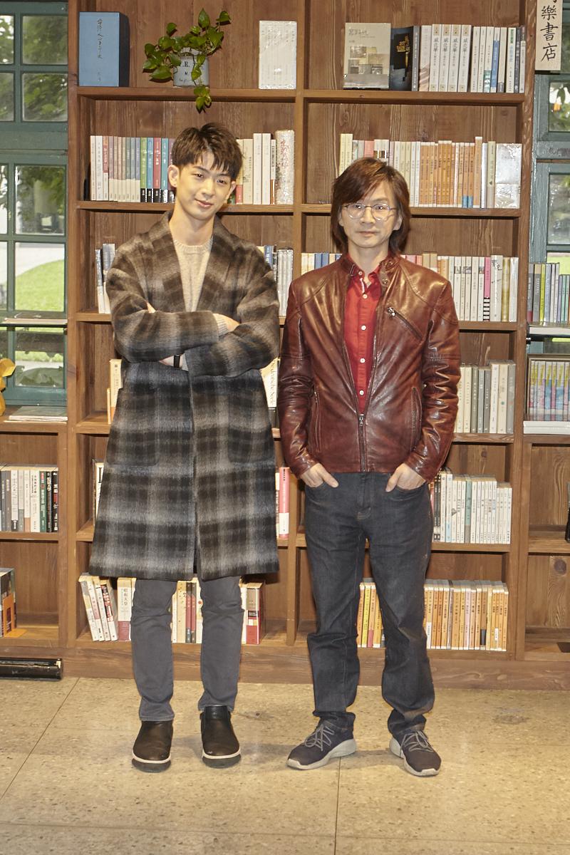 ▲林隆璇與兒子林亭翰合作單曲《愛搞怪的小東西》。(圖/寬寬整合行銷提供)