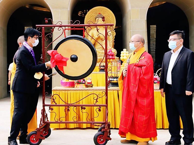 佛光山「世界神明聯誼會」 宗教融和共同為疫情祈願