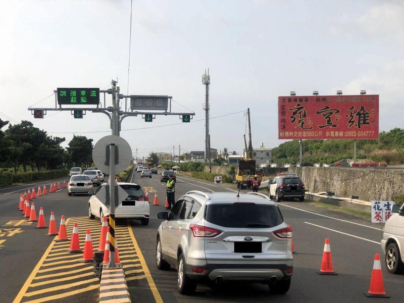 110年元旦連假屏警加強交通疏導 提供優質交通服務