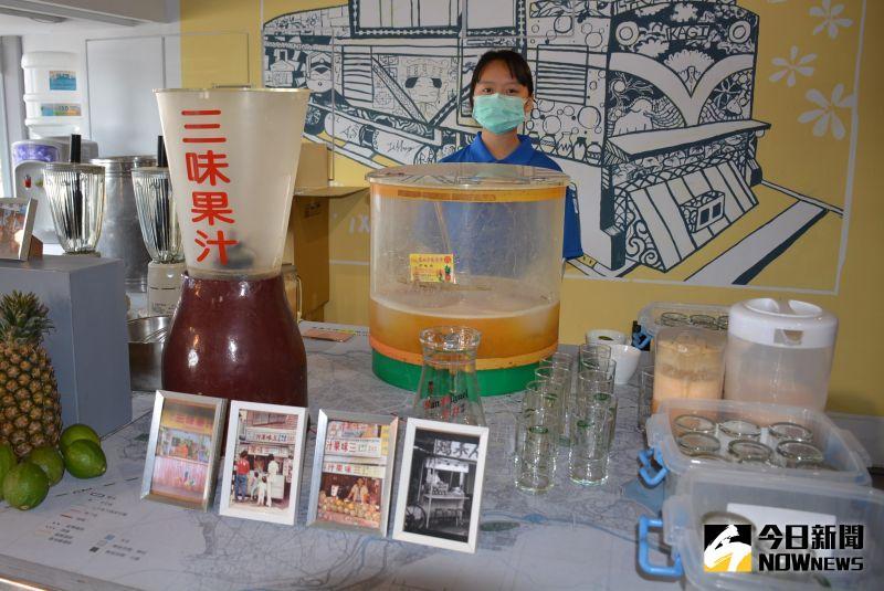 ▲在地經營一甲子的羅山三味果汁。(圖/記者郭政隆攝影2020.12.26)