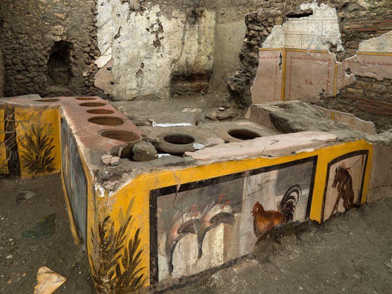 龐貝城發現小吃攤遺址 揭2千年前最受歡迎「平民美食」