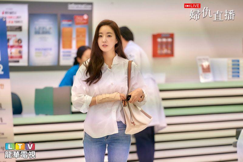 ▲韓劇《婦仇直播》近期引起熱議。(圖/文龍華電視提供)