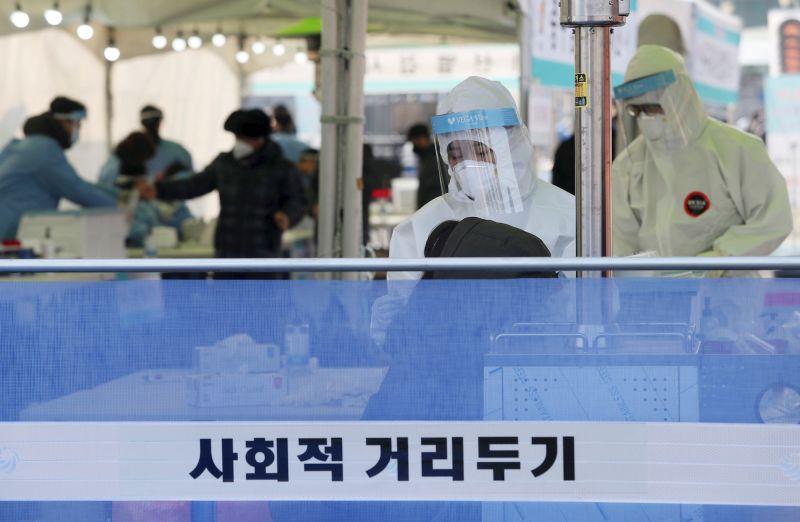 韓國暫不上調防疫級別 首都圈維持2.5級至1月3日