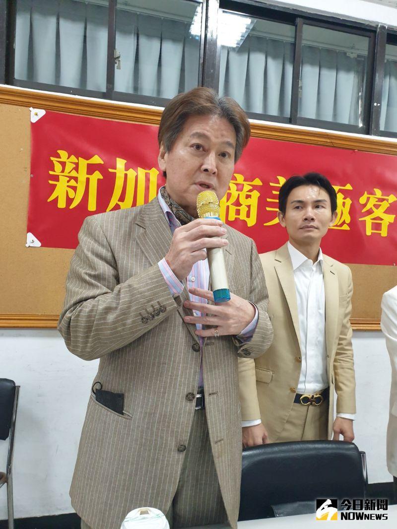 ▲縱橫影視界40年的藝人劉尚謙,到場主講「斜槓創業讓生命更精彩」。(圖/記者金武鳳攝,2020.12.27)