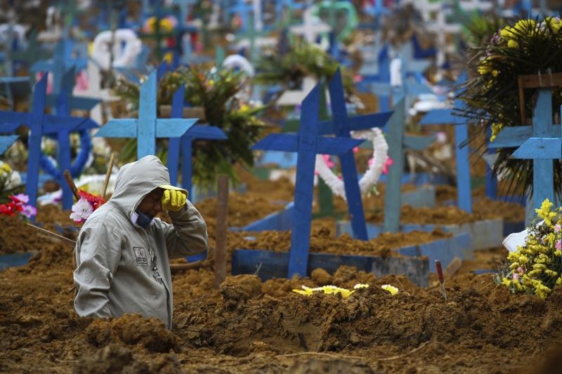 巴西新增6萬6964例確診 2656人染疫不治