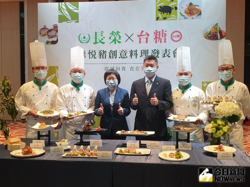 避萊豬風波 長榮桂冠引用台糖頂級國產「森悅豬」入菜