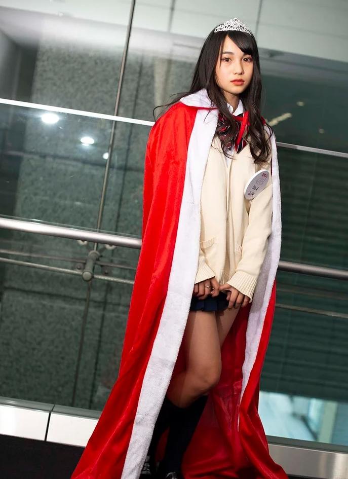 ▲全日本最可愛的國中生冠軍出爐。(圖/翻攝自日媒《modelpress》)