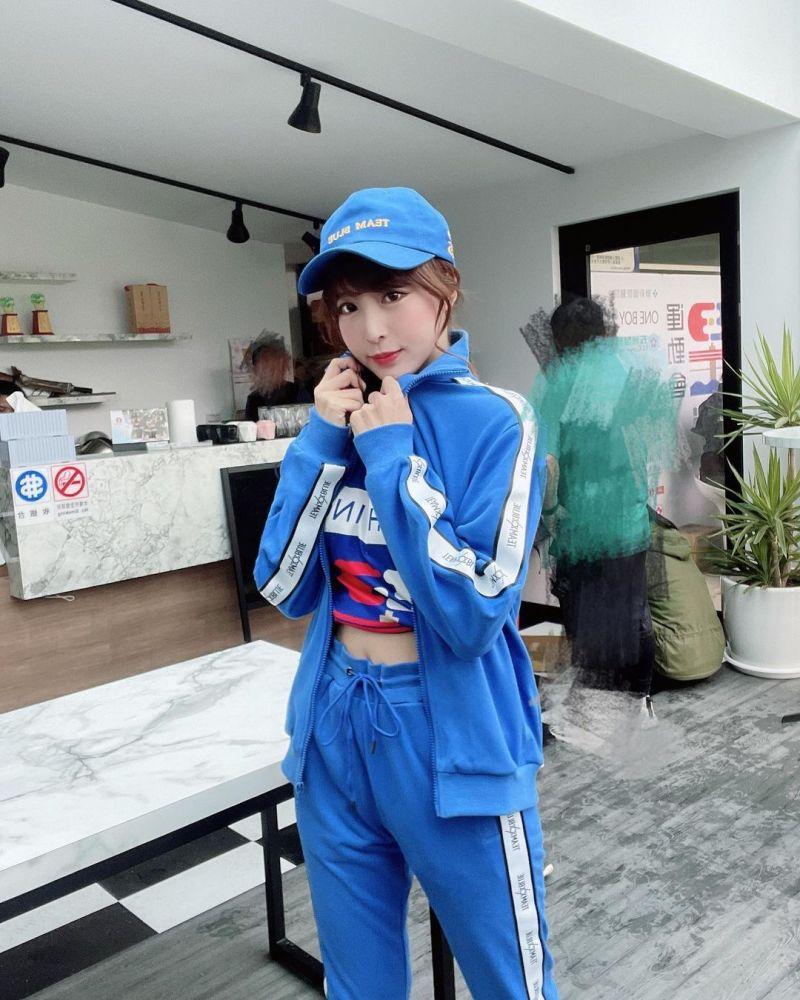 ▲孟潔是《全明星運動會》藍隊的經理。(圖/孟潔IG)
