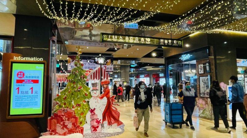 ▲迎接2021年倒數計時,百貨業者把握商機,京站在跨年前推出專屬卡友加碼活動,Q點折抵1點折1元。(圖/京站提供)