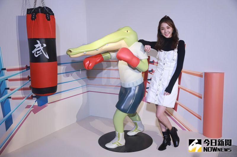 ▲邵雨薇出席Keigo展-我的生活不可能那麼壞。(圖/記者葉政勳攝