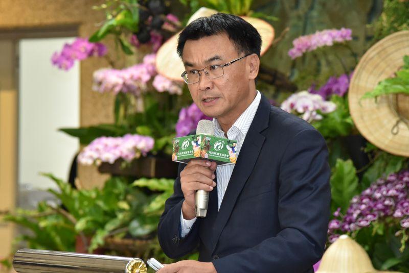 ▲農委會主委陳吉仲日前出席活動時表示,「台灣豬」標章的重點就只有一個,那就是讓消費者豬肉的原產地國。圖為資料照。(圖/農委會提供)