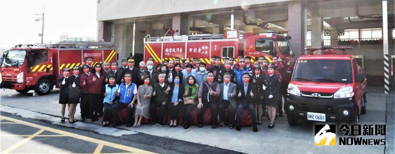 城隍廟捐贈消防車