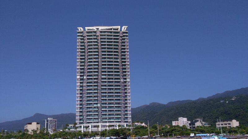 位於烏石港重劃區的景觀住宅