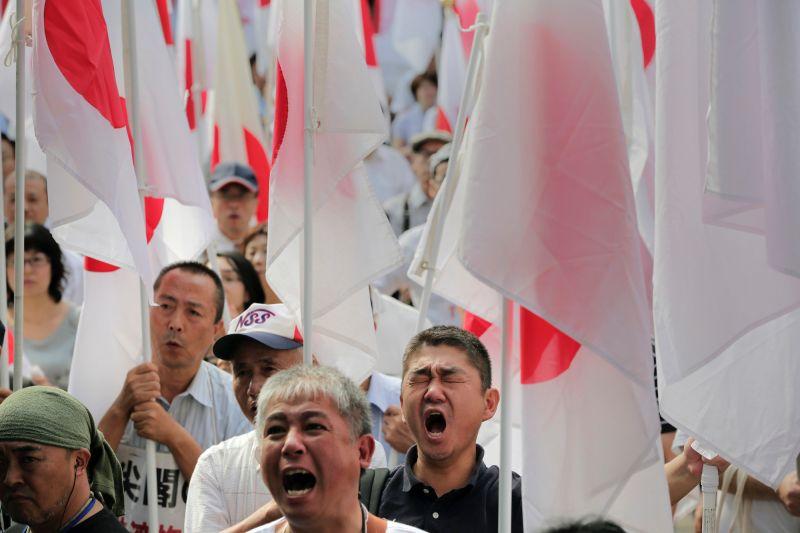 日本抗議/釣魚台列島/尖閣諸島/這張是2012年的