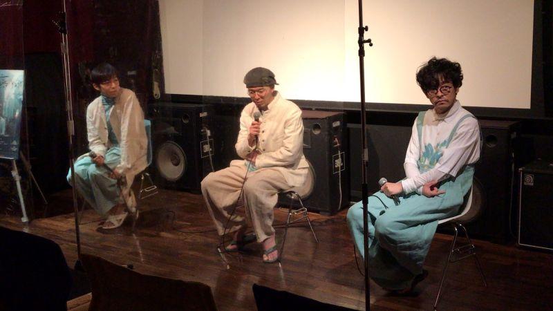▲水間龍(左起)、導演今村圭佑、山中崇出席映後座談。(圖/希望行銷)