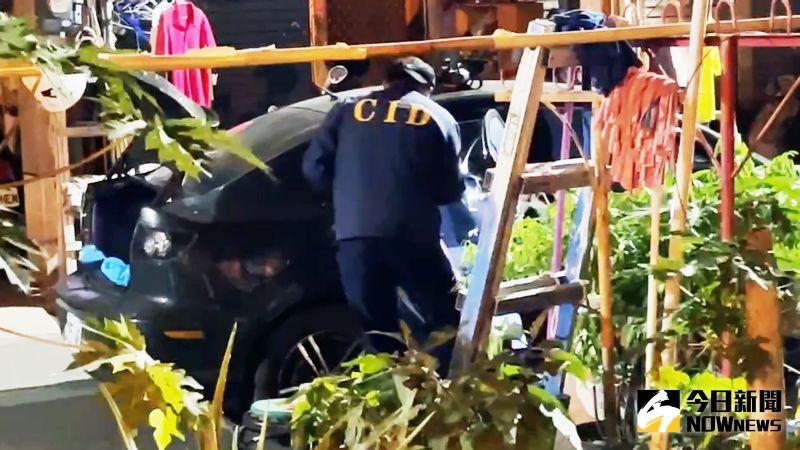 拒絕攔查警連開12槍 高雄通緝犯衝撞逃亡中 1員警受傷