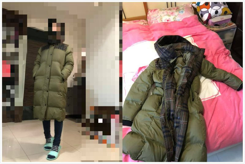 ▲原PO買了一件長版羽絨外套,這幾天剛好遇上寒流拿出來穿,實測結果相當滿意。(圖/翻攝自臉書《Costco好市多商品經驗老實說》)