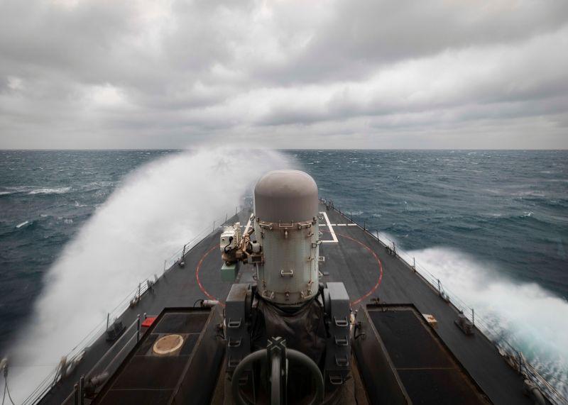美國海軍飛彈驅逐艦「馬侃號」