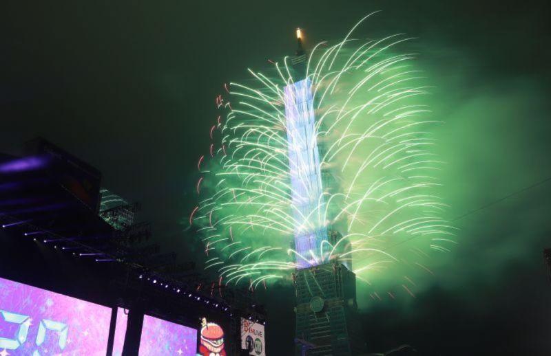 ▲台北市政府今天宣布正常舉辦跨年,引發外界熱議。(示意圖/NOWnews資料照片)