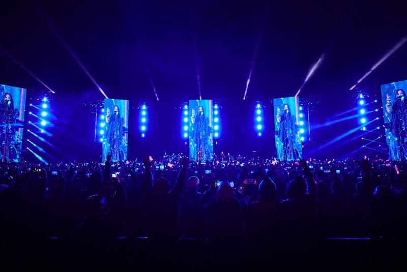 ▲張惠妹在台東舉辦跨年演唱會。(圖/聲動娛樂提供)
