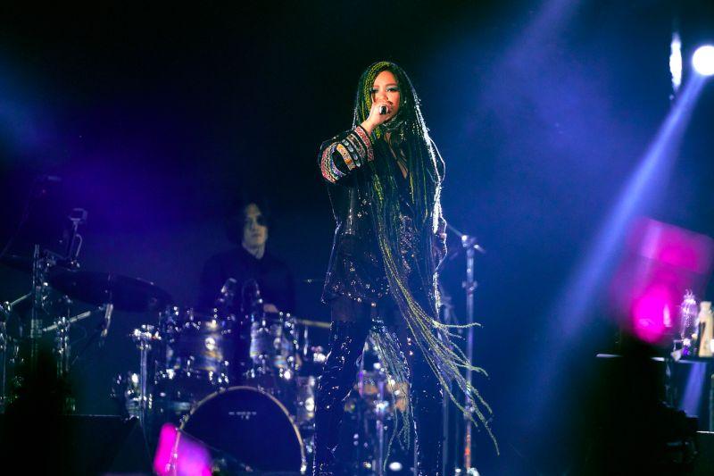 張惠妹在台東舉辦跨年演唱會。(圖/聲動娛樂提供)