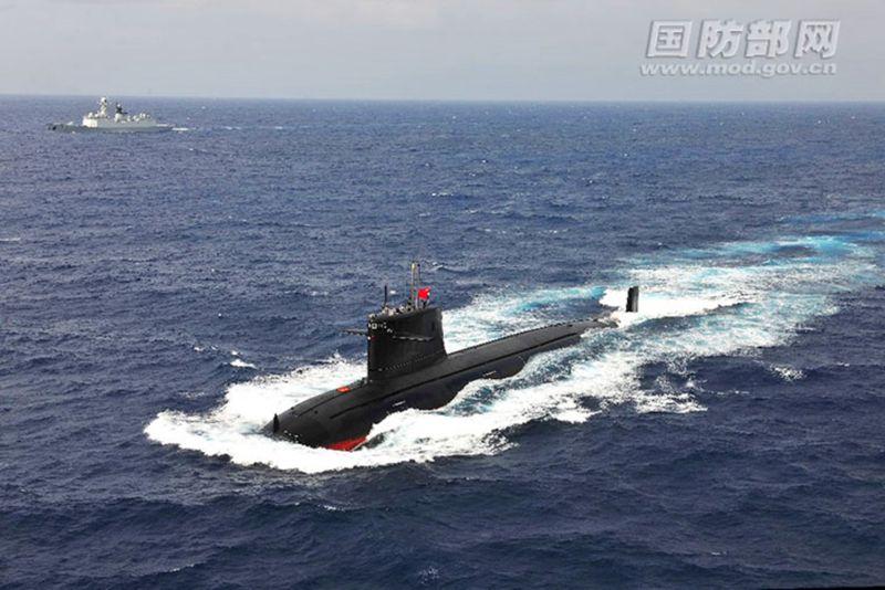 ▲對岸北京的潛艇部隊,成為美軍航空母艦護台時,首要預防與偵測的目標。(圖/翻攝中國大陸國防部網站)