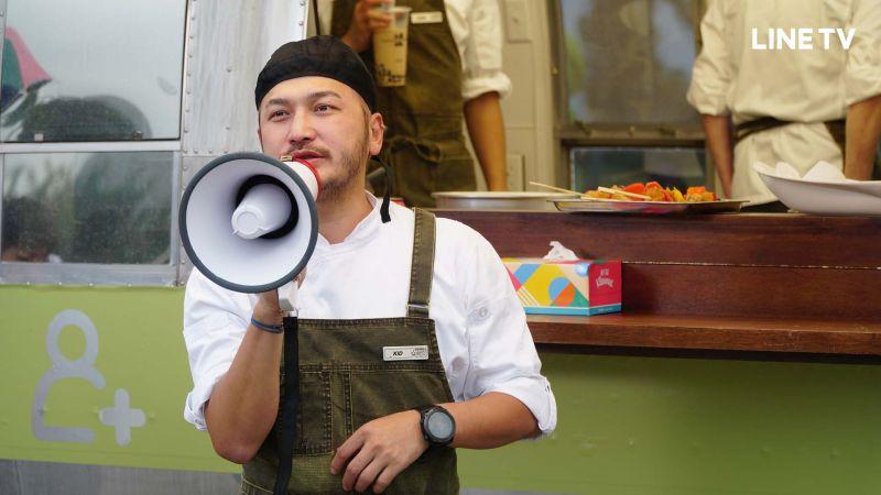 ▲KID樂當黃秋生助手。(圖/LINE