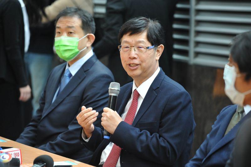 ▲鴻海集團董事長劉揚偉。(圖/林柏年攝,2021.1.4)
