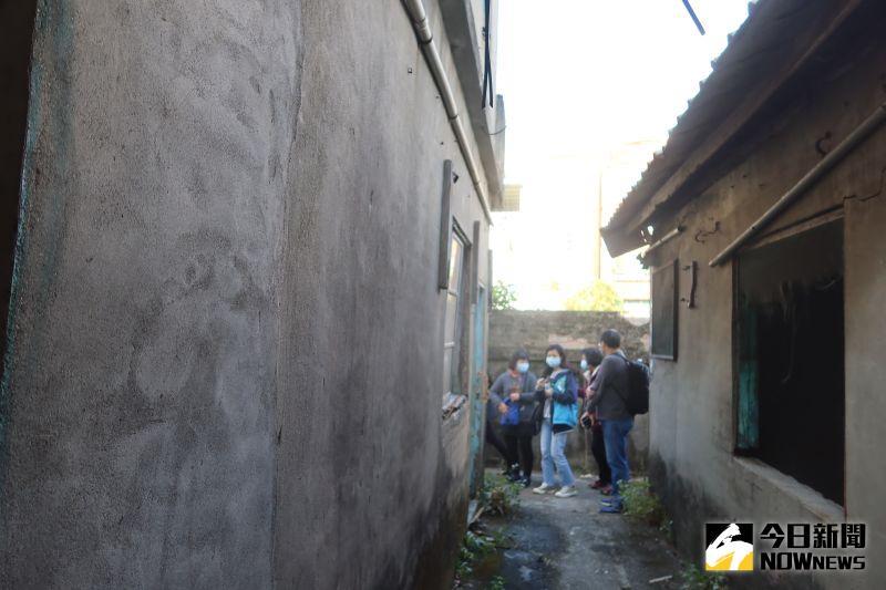 ▲建於1950年的彰化中興庄眷村,最大的特色就是沒有一戶是一樣的。(圖/記者陳雅芳攝,2021.01.04)