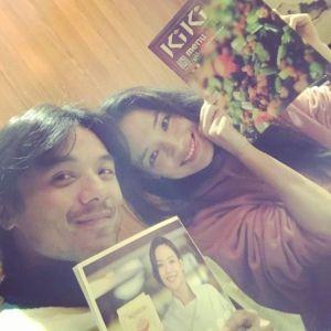 ▲舒淇(右)40歲時嫁給了馮德倫(左)。(圖/舒淇Instagram)