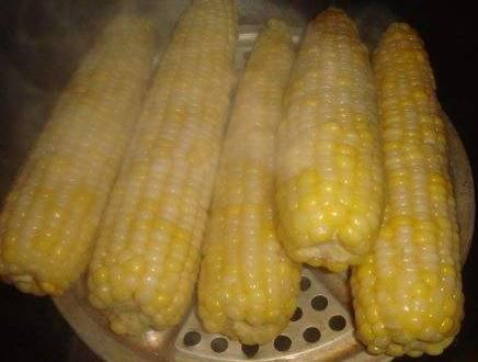 ▲比起整根玉米直接入鍋蒸,先掰開幾段再蒸更好。(圖/翻攝自搜狐號《小乾倩倩的遊戲的美食》)
