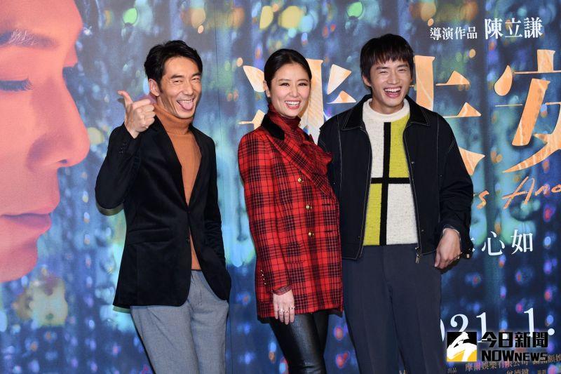 ▲李李仁(左)為了扮女人,超級入戲。(圖/記者林柏宏攝)