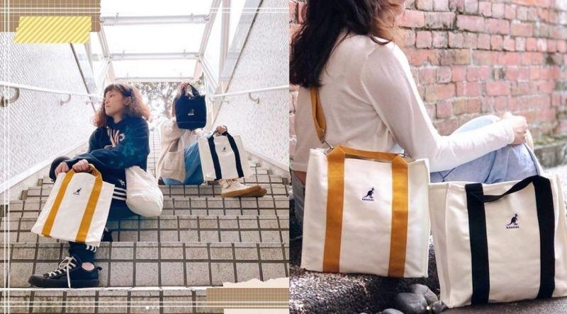 ▲10000點+499就能輕鬆入手KANGOL經典帆布包,快來分享自己的換購攻略,以及潮流品味。(圖/翻攝自carrefourtaiwan instagram)