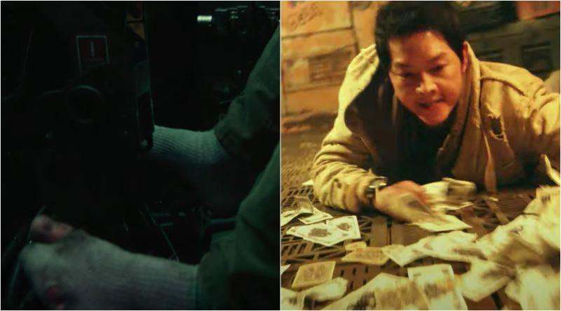 ▲宋仲基在新片《勝利號》飾演窮到活不下去的飛行員,為了錢什麼都願意做。(圖/Netflix)