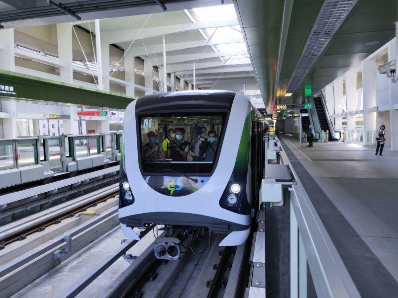 中捷運軸心斷裂 2月2日完成更換