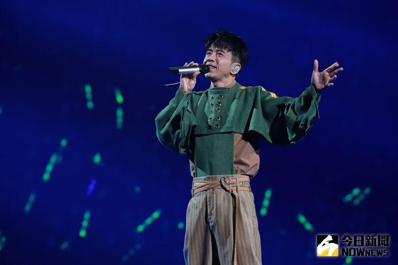 ▲光良終於在今(9)日於台北小巨蛋舉行「今晚我不孤獨」演唱會。(圖/記者葉政勳攝