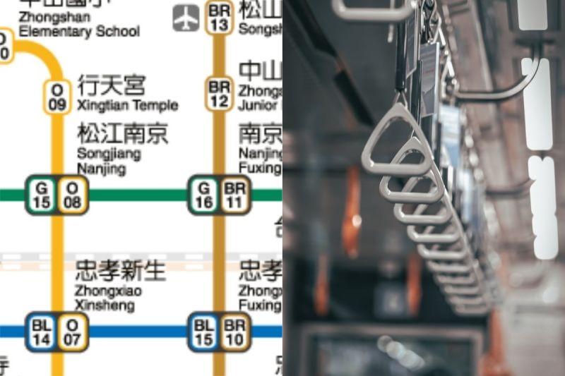 ▲有網友跟學弟妹們搭不同方向的捷運,結果到下一站時卻又看到他們在等車。(示意圖/翻攝自《台北捷運》官網及《pexels》 )