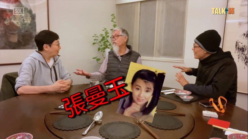 ▲劉天賜(中)踢爆香港娛樂圈黑歷史。(圖/蘇施黃YT)