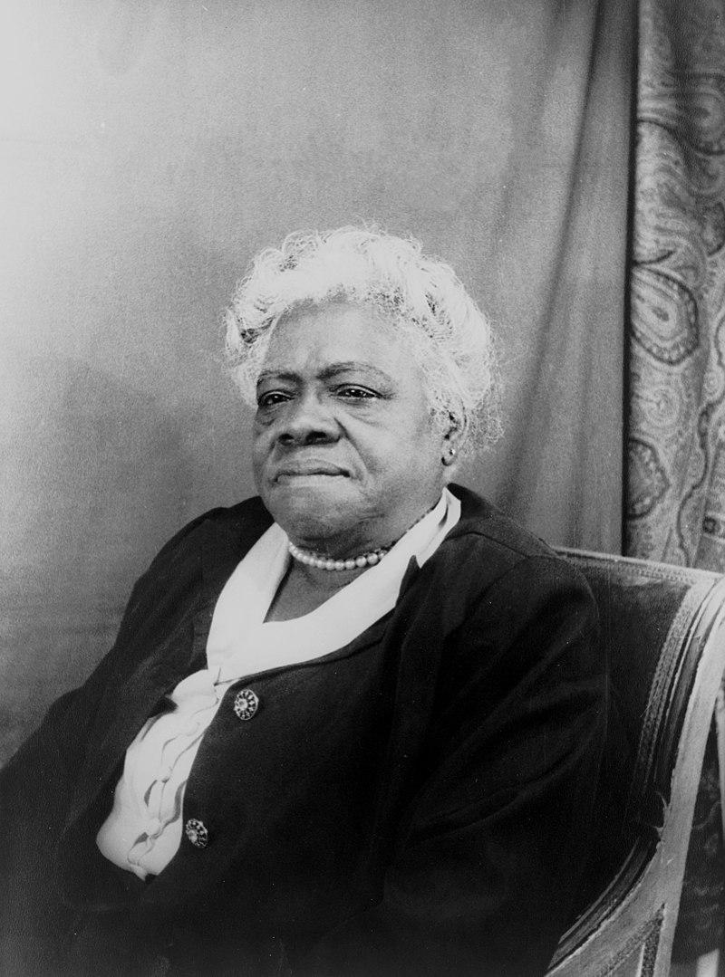 ▲瑪莉‧貝舒除了是優秀的教育家,也是社會運動者,更被列為美國最偉大的女性之一。她擔任「黑人女性全國聯盟」董事會主席時,積極參與公共事務,後來被舉薦投入羅斯福總統「新政」,發揮實質影響力。(圖│