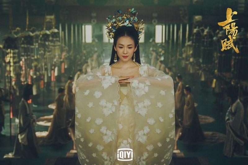 ▲章章子怡飾演備受寵愛的上陽郡主王儇。(圖