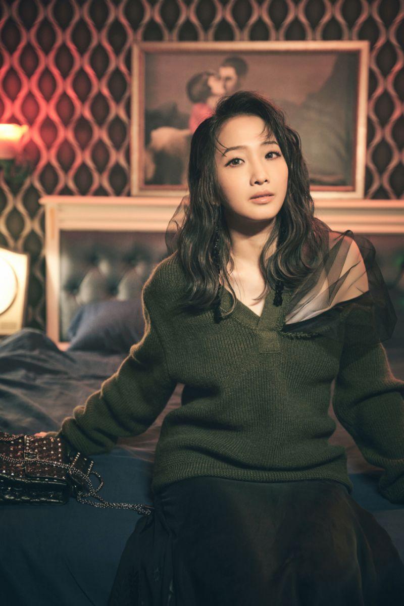 ▲朱俐靜推出歌曲《不完美的完美》MV。(圖/福韻工作室提供)