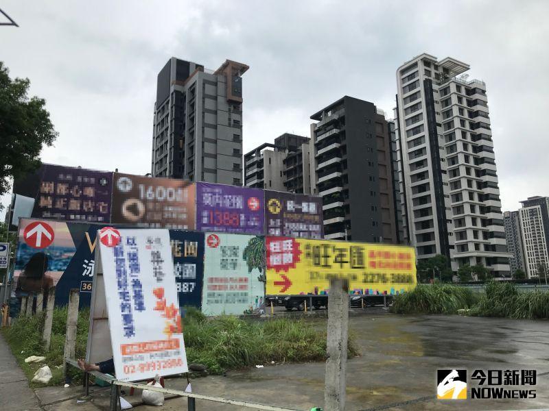 ▲北新莊周邊房市受到建商青睞,近期有不少新建案進駐。(圖/記者賴志昶攝)