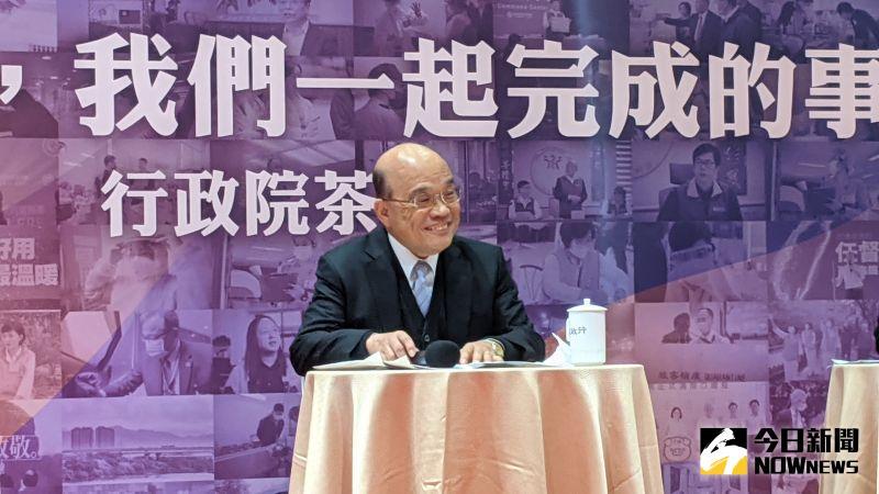 民進黨最新內部民調 蘇貞昌滿意度47.1%