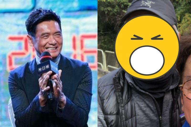 ▲65歲周潤發近況照曝光。(圖/華映、譚詠麟微博)