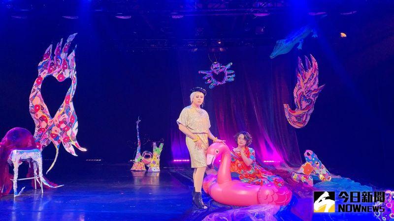 ▲「迷幻花園肢體劇場《親愛的》」於高雄正港小劇場演出。(圖/記者陳美嘉攝,2021.01.14)